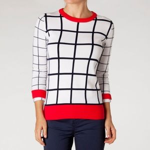 ISO Windowpane Sweater by Tommy Hilfiger